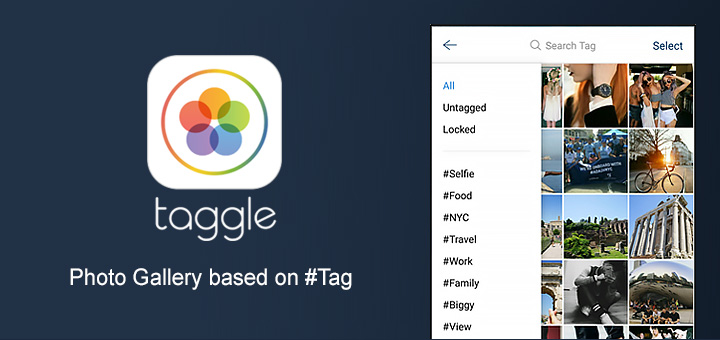 Taggle — Clean your Photo Gallery with #tags [Sponsor]