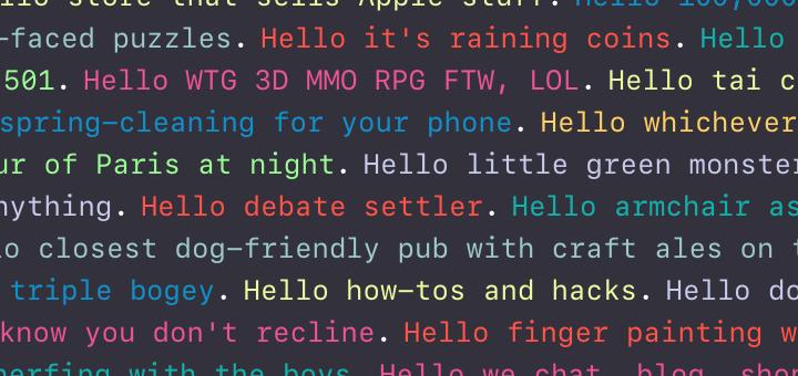 Reversing the WWDC Wall