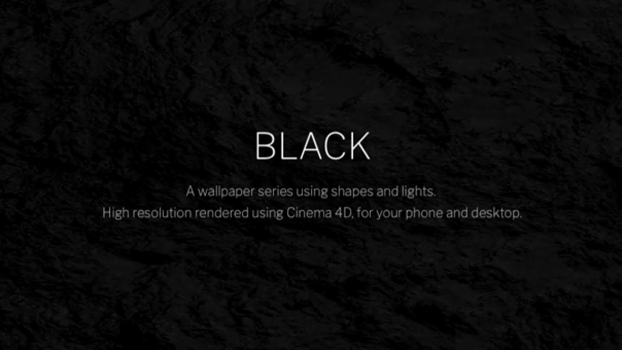 Black A Dark Wallpaper Series Using Shapes And Lights Beautiful Pixels
