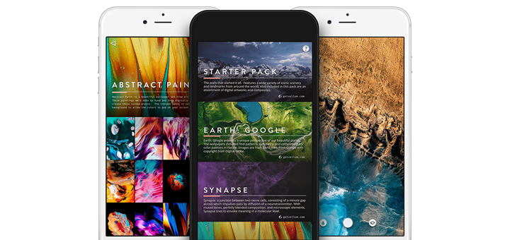 Vellum Wallpapers App for iPhone