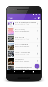 Droplr for Android