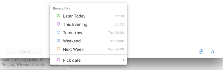 Follow-Up Reminders in Spark