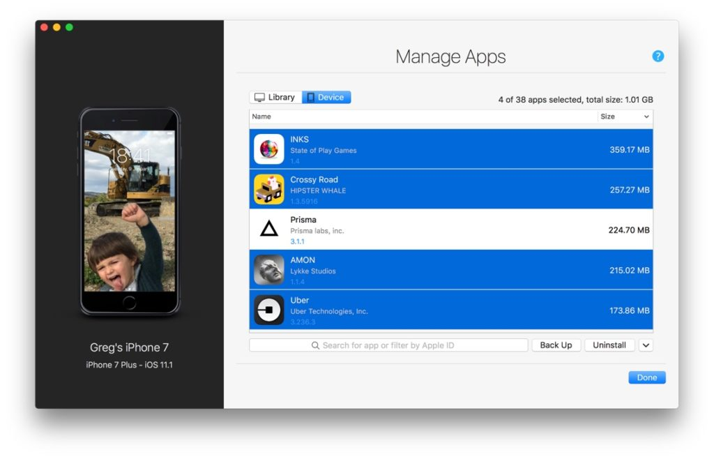 Manage iOS Apps without iTunes