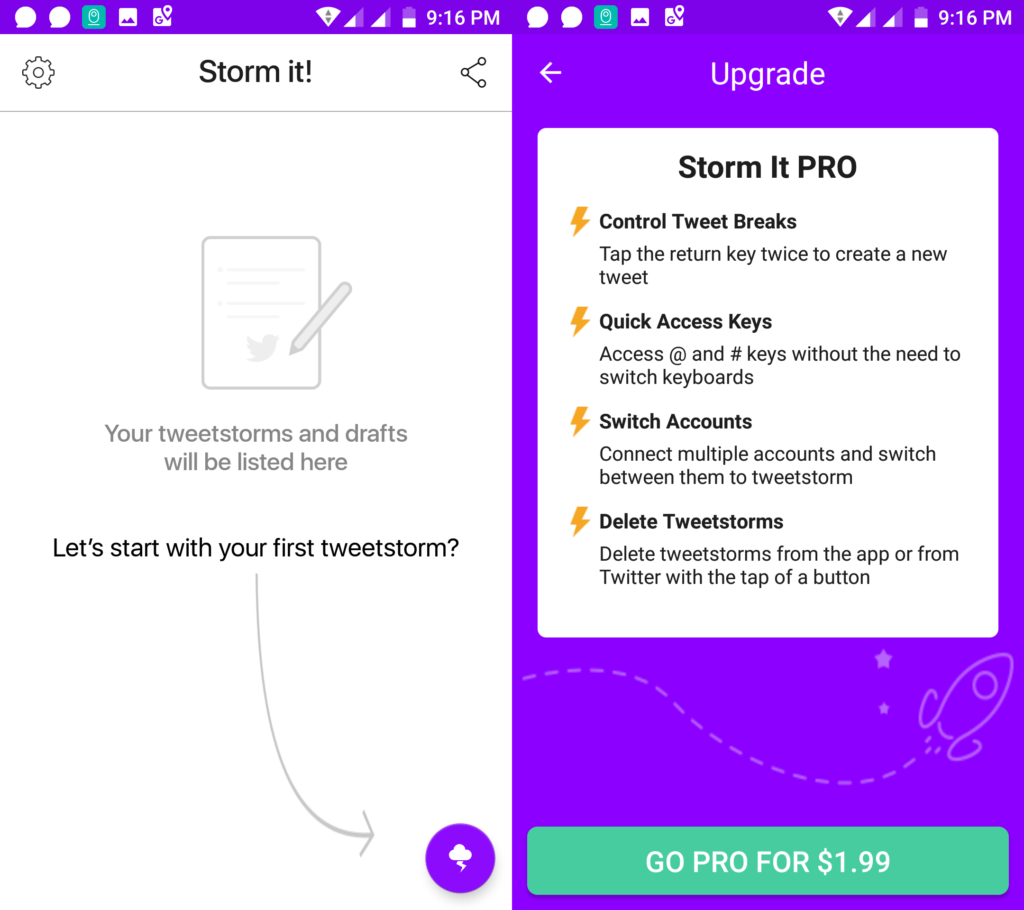 Storm It 2.0 for Android