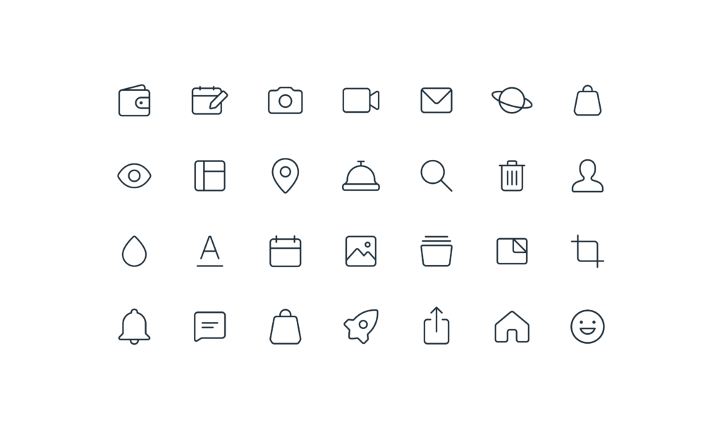 Wix.com Icons