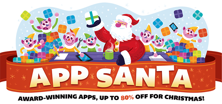 App Santa — Beautiful Apps & Games, Up To 80% Off