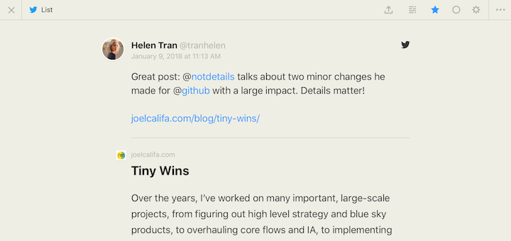 You Can Now Subscribe to Twitter Content in Feedbin