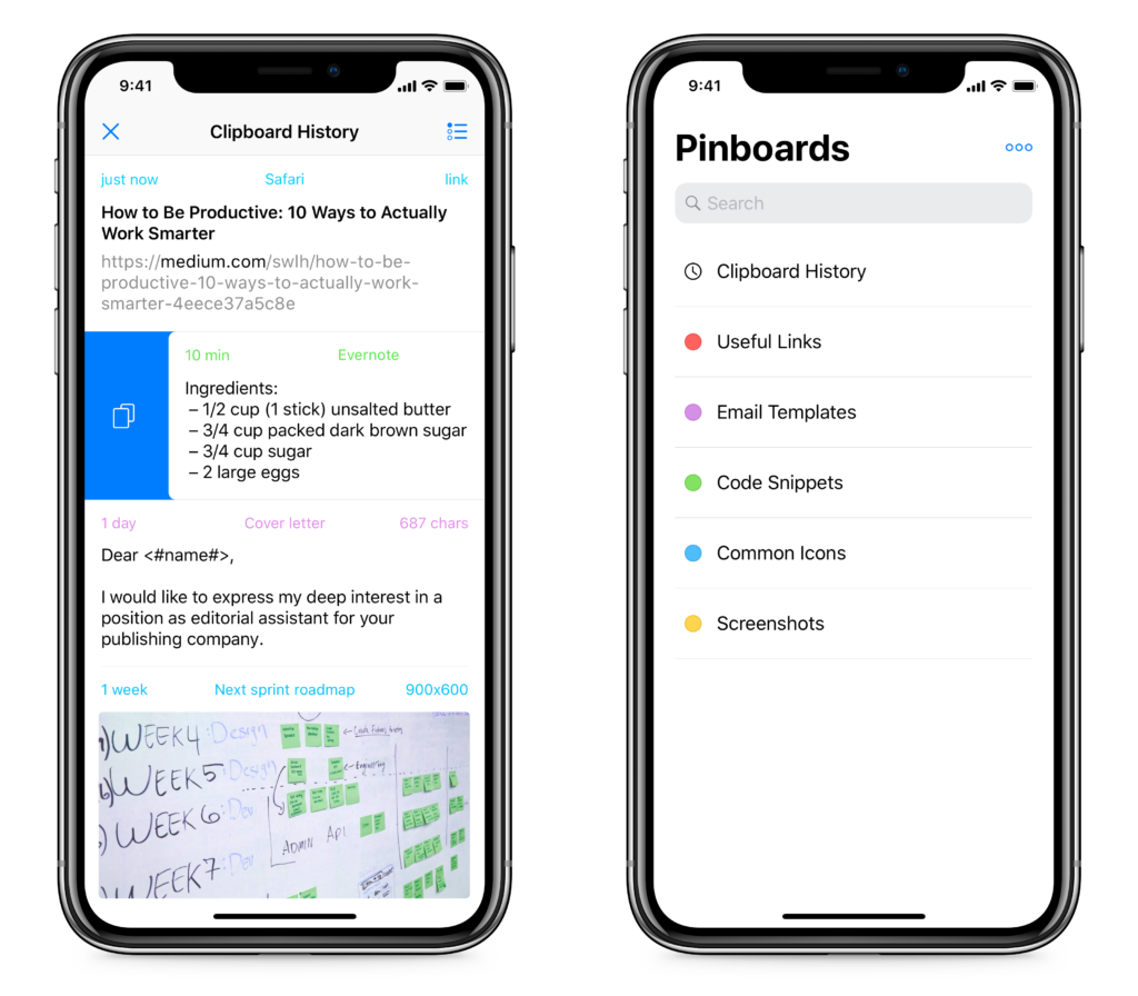 Paste Clipboard Manager for iPhone