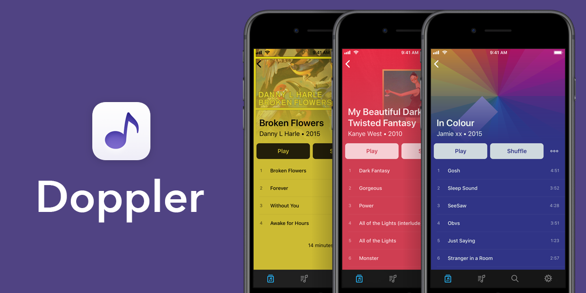 Doppler for iPhone — A Great Replacement for the Stock Music App