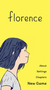 Florence is an Interactive Novel for iOS and Android