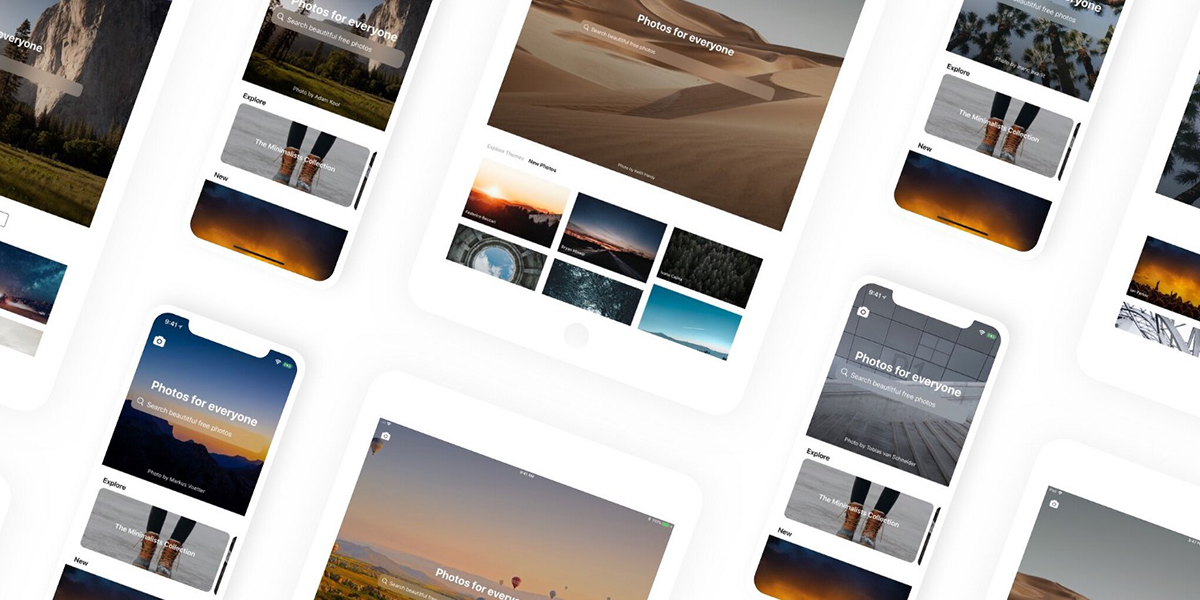 Access Thousands of Royalty-Free Photos for Free with Unsplash App for iPhone and iPad