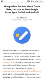 Google News App for Android