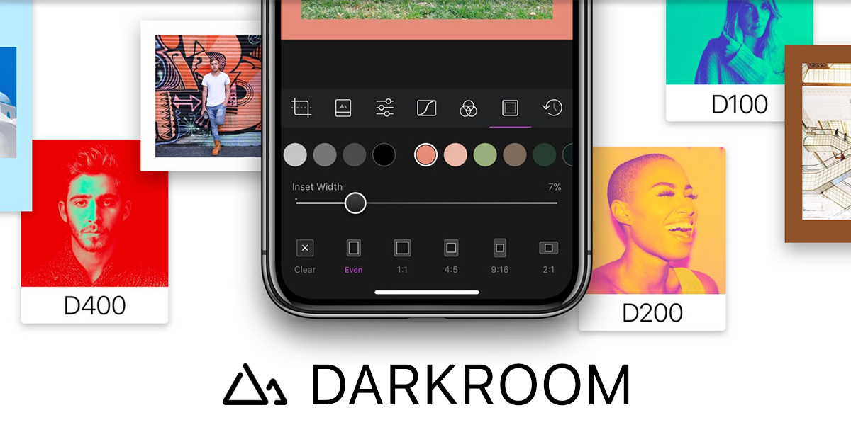 Darkroom 3.6 Adds Content-Aware Frame Tool & Duotone Filters