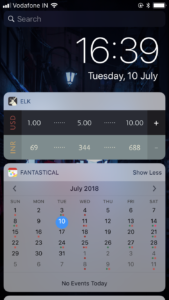 Elk Currency Converter Today Widget