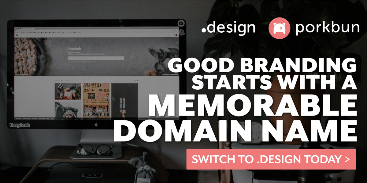 A .design Domain Name Is Perfect For Creatives. Get One For Free!