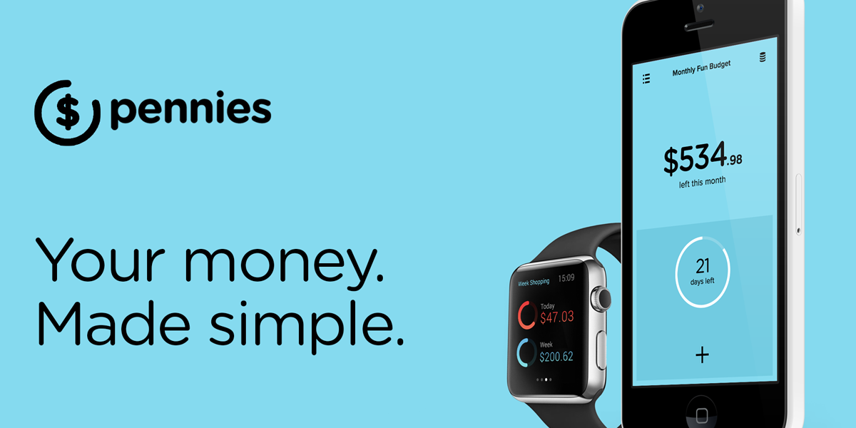 Pennies — A Simple & Elegant Way to Budget Your Expenses