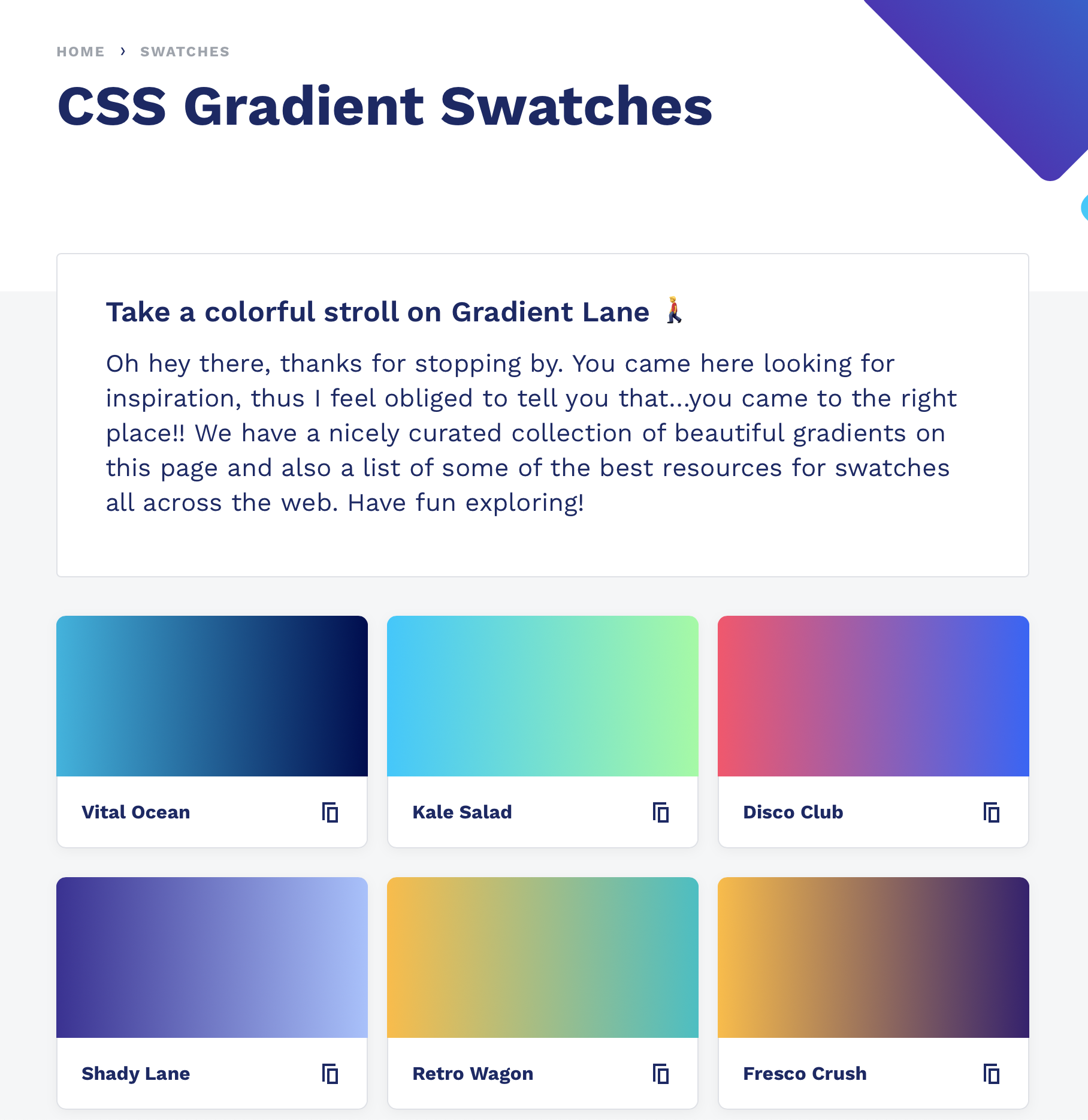 Create Beautiful CSS Gradients In Seconds with CSSGradient.io