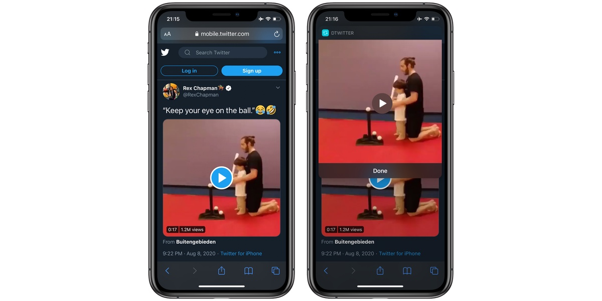 How to Download Twitter Videos on an iPhone or an iPad